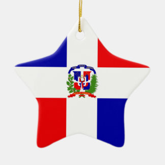 Low Cost! Dominican Republic Ceramic Star Ornament