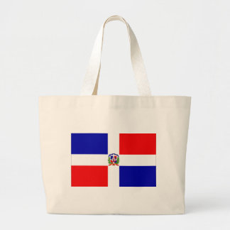 Low Cost! Dominican Republic Large Tote Bag