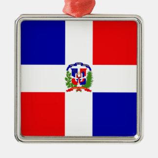 Low Cost! Dominican Republic Metal Ornament