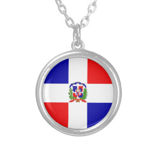 Low Cost! Dominican Republic Silver Plated Necklace