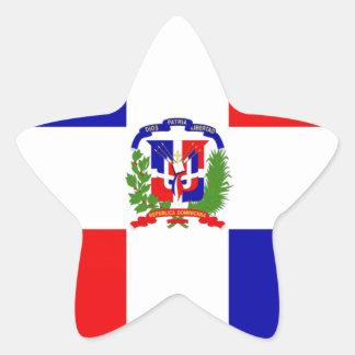 Low Cost! Dominican Republic Star Sticker