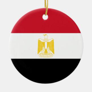Low Cost! Egypt Flag Ceramic Ornament