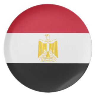 Low Cost! Egypt Flag Plate