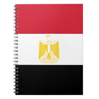 Low Cost! Egypt Flag Spiral Notebooks
