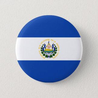 Low Cost! El Salvador Flag 2 Inch Round Button