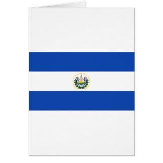 Low Cost! El Salvador Flag Card