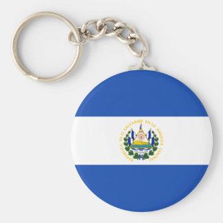 Low Cost! El Salvador Flag Keychain