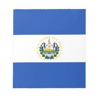 Low Cost! El Salvador Flag Notepads