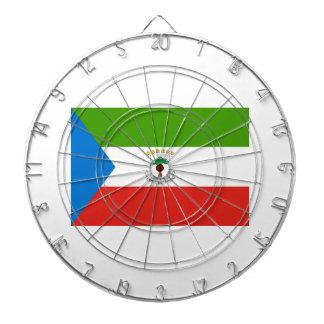Low Cost! Equatorial Guinea Flag Dartboard