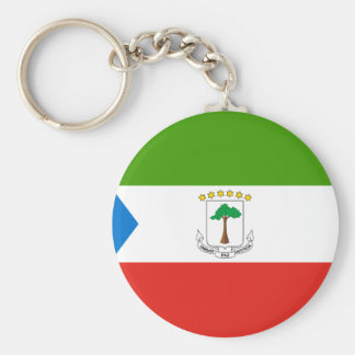 Low Cost! Equatorial Guinea Flag Keychain