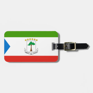 Low Cost! Equatorial Guinea Flag Luggage Tag