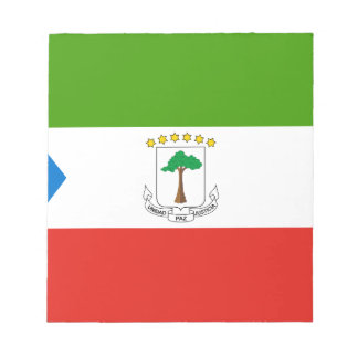 Low Cost! Equatorial Guinea Flag Notepad