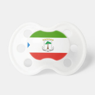 Low Cost! Equatorial Guinea Flag Pacifier