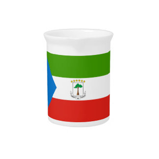 Low Cost! Equatorial Guinea Flag Pitcher