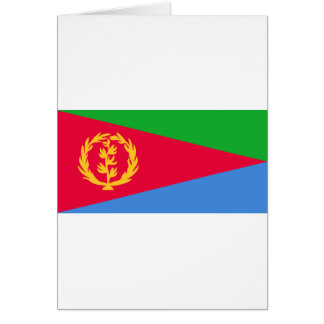Low Cost! Eritrea Flag Card