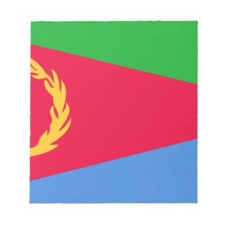 Low Cost! Eritrea Flag Notepad