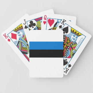 Low Cost! Estonia Flag Bicycle Playing Cards