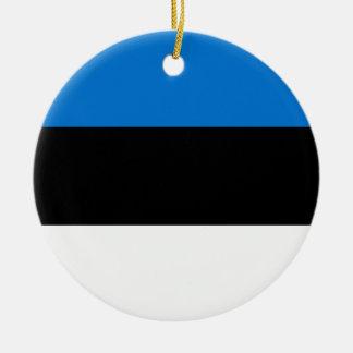 Low Cost! Estonia Flag Ceramic Ornament