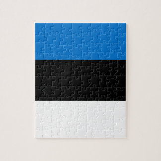 Low Cost! Estonia Flag Jigsaw Puzzle