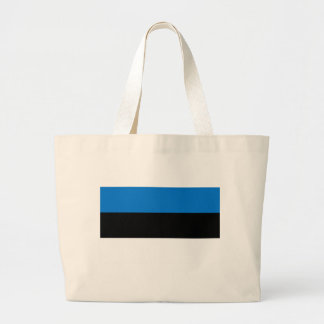 Low Cost! Estonia Flag Large Tote Bag