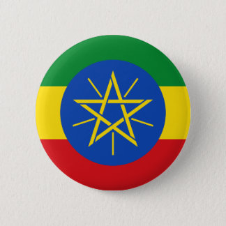 Low Cost! Ethiopia Flag 2 Inch Round Button