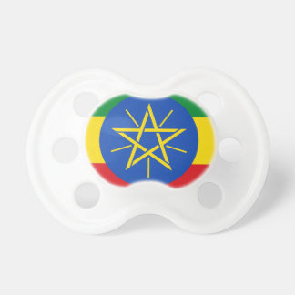 Low Cost! Ethiopia Flag Baby Pacifiers