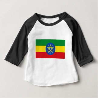 Low Cost! Ethiopia Flag Baby T-Shirt