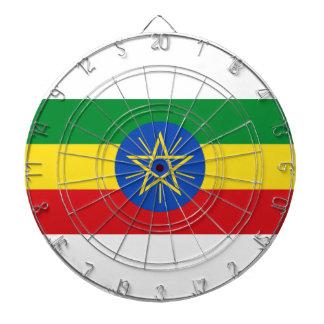 Low Cost! Ethiopia Flag Dartboard