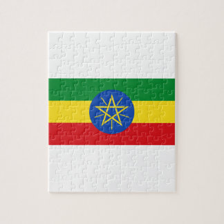 Low Cost! Ethiopia Flag Jigsaw Puzzle