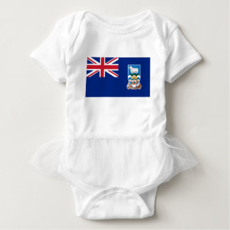 Low Cost! Falkland Islands Flag Baby Bodysuit