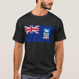 Low Cost! Falkland Islands Flag T-Shirt