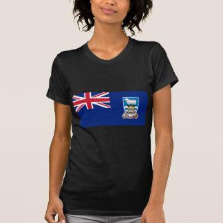 Low Cost! Falkland Islands Flag T-Shirt