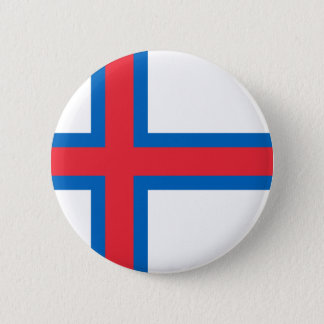 Low Cost! Faroe Islands Flag 2 Inch Round Button