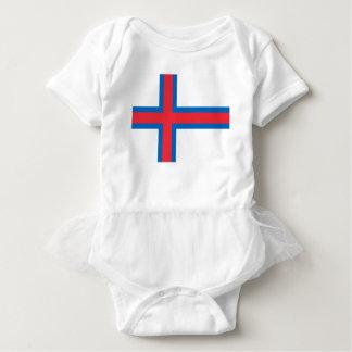 Low Cost! Faroe Islands Flag Baby Bodysuit