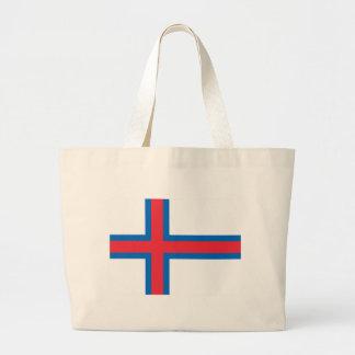 Low Cost! Faroe Islands Flag Large Tote Bag