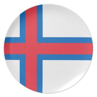 Low Cost! Faroe Islands Flag Plate