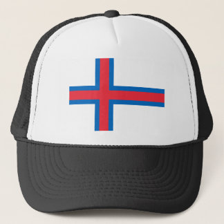 Low Cost! Faroe Islands Flag Trucker Hat