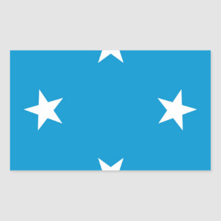 Low Cost! Federated States of Micronesia Flag Sticker