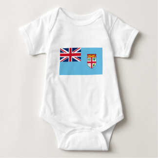 Low Cost! Fiji Flag Baby Bodysuit