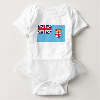 Low Cost! Fiji Flag Baby Bodysuit