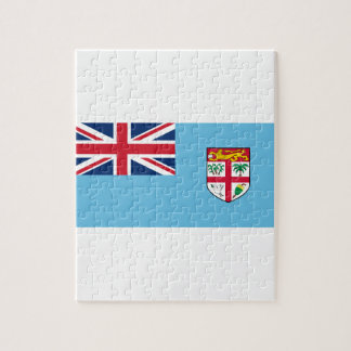 Low Cost! Fiji Flag Jigsaw Puzzle