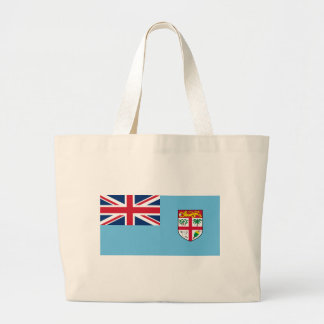 Low Cost! Fiji Flag Large Tote Bag