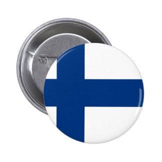 Low Cost! Finland Flag 2 Inch Round Button