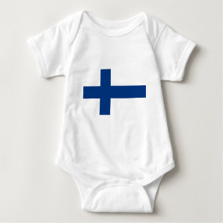 Low Cost! Finland Flag Baby Bodysuit