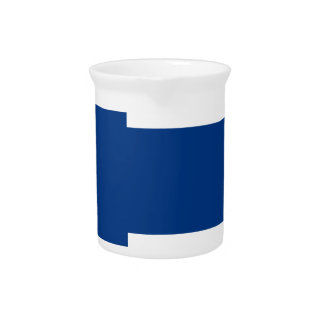 Low Cost! Finland Flag Pitcher