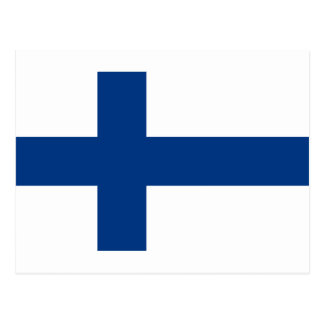 Low Cost! Finland Flag Postcard