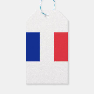 Low Cost! France Flag Gift Tags