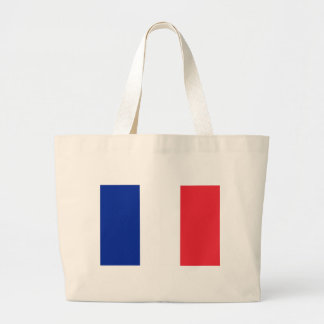 Low Cost! France Flag Large Tote Bag