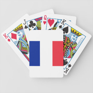 Low Cost! France Flag Poker Deck