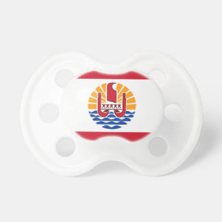 Low Cost! French Polynesia Flag Pacifier